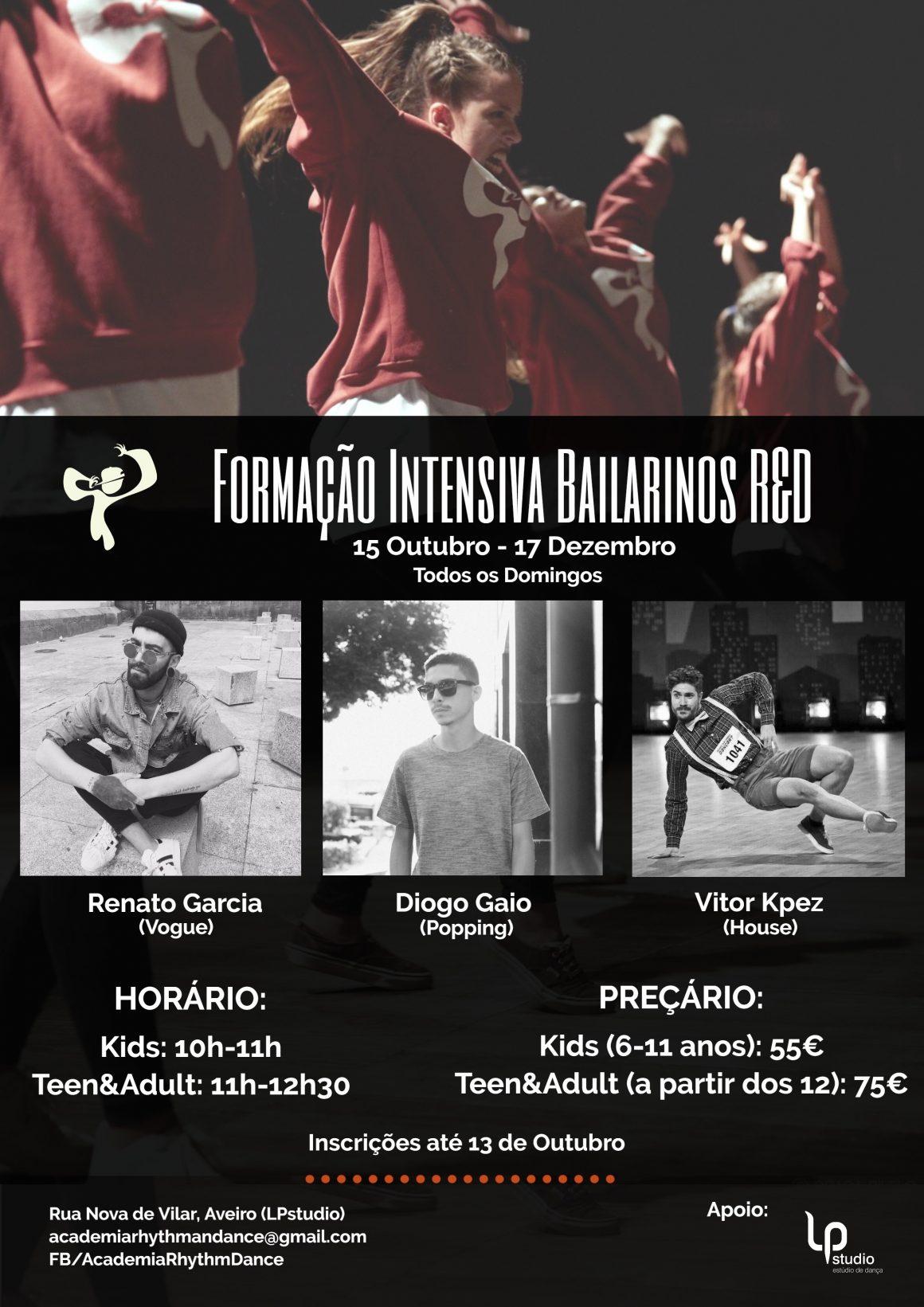 FORMAÇÃO INTENSIVA BAILARINOS R&D
